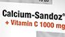 CALCIUM- SANDOZ +  VITAMIN C 1000 MG  PEZSGŐTABLETTA 10 DB