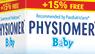 PHYSIOMER Csecsemő Orröblítő oldat 115 ml +15% ajándék