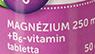 VITAMINTÁR MAGNÉZIUM 250 MG + B6 vitamin TABLETTA 50 DB